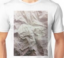 """crumpled paper"" iPhoneography Unisex T-Shirt"