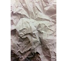 """""""crumpled paper"""" iPhoneography Photographic Print"""