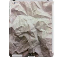 """""""crumpled paper"""" iPhoneography iPad Case/Skin"""
