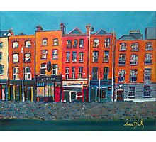 Arran Quay, Dublin, Ireland Photographic Print
