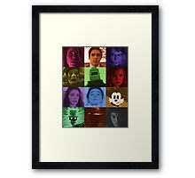 Black Box Films Profile Collage Framed Print