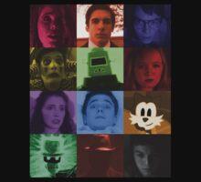Black Box Films Profile Collage Kids Tee