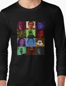 Black Box Films Profile Collage Long Sleeve T-Shirt