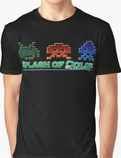 Spaceinvaders Logo Graphic T-Shirt