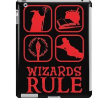Wizards Rule iPad Case/Skin