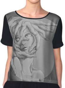 Fear of the Thing Itself Chiffon Top