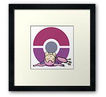 Skitty Pokemon Framed Print