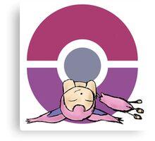 Skitty Pokemon Canvas Print
