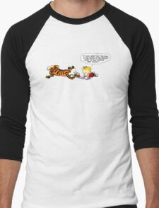Calvin And Hobbes : Discussion Men's Baseball ¾ T-Shirt