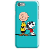 Charlie Brown And His Good Friend iPhone Case/Skin