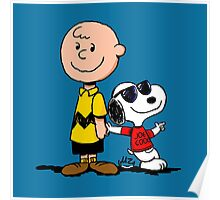Charlie Brown And His Good Friend Poster