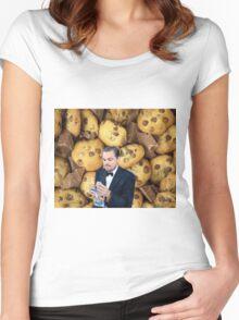 Leonardo DiCaprio Cookie Women's Fitted Scoop T-Shirt