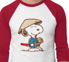 Snoopy In Japan Men's Baseball ¾ T-Shirt