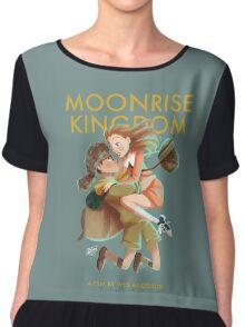 Moonrise Kingdom by Wes Anderson Chiffon Top