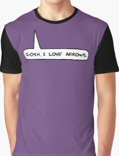 Gosh I Love Arrows Graphic T-Shirt