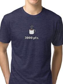 High Score - Hot Beverage A 3000pts Tri-blend T-Shirt