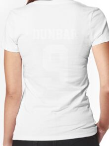 Dunbar 9 Beacon Hills Women's Fitted V-Neck T-Shirt