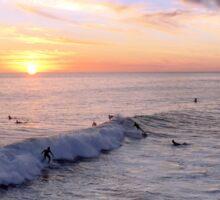 California Sunset Surfers Sticker