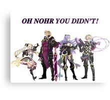 Oh Nohr You Didn't Metal Print