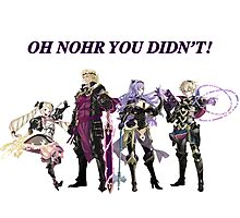 Oh Nohr You Didn't Photographic Print