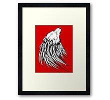 Wolf Cry Framed Print