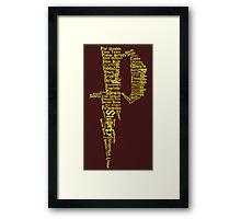 P Potter Framed Print