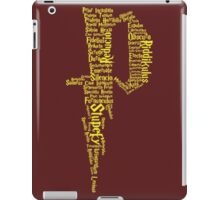 P Potter iPad Case/Skin
