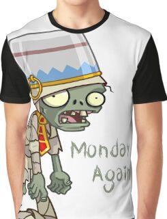Plants vs Zombies  Monday Again Graphic T-Shirt