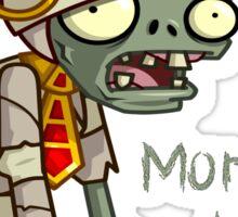 Plants vs Zombies  Monday Again Sticker