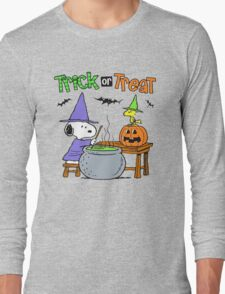 Snoopy Trick Or Treat Long Sleeve T-Shirt
