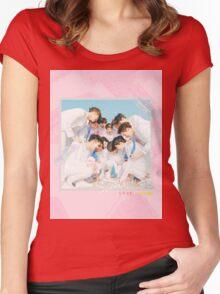 SEVENTEEN 'First Love & Letter' Women's Fitted Scoop T-Shirt