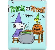 Snoopy Trick Or Treat iPad Case/Skin