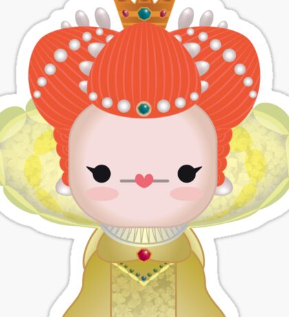 Queen Elizabeth Tudor Sticker