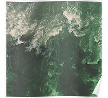 Green Ocean Poster