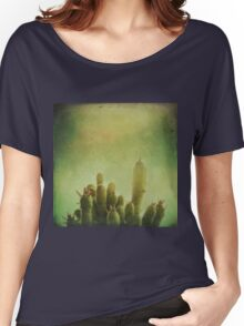 Cactus in my mind Women's Relaxed Fit T-Shirt