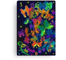 Butterflies in the stomach... Canvas Print