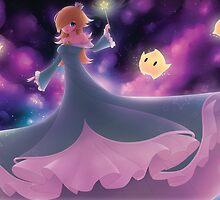 Rosalina and Lumas by Kairui by Anna Lee