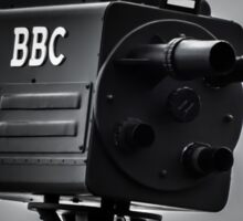 Retro bbc camera  Sticker