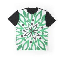 Abstract vegetation Graphic T-Shirt