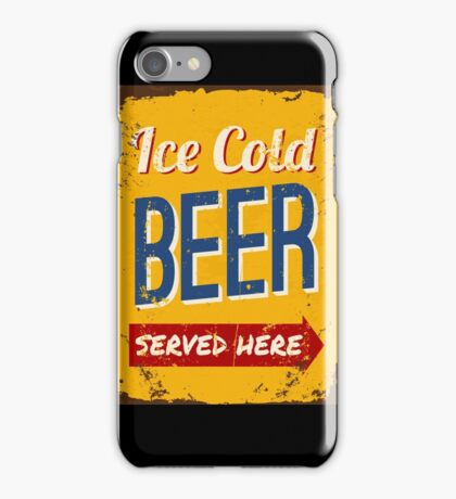 Ice Cold Beer iPhone Case/Skin