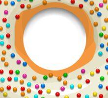 Donut!  Sticker
