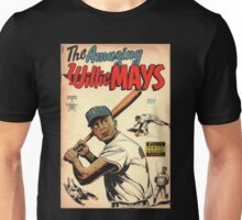 Vintage Comics - The Amazing Willie Mays Unisex T-Shirt
