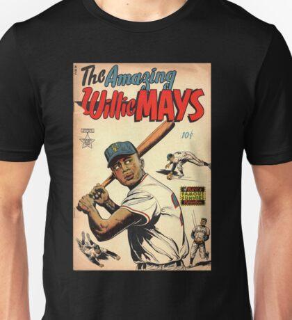 Vintage Comics - The Amazing Willie Mays Unisex T-Shirt