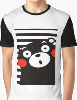 Japan Anime Kumamon Bear Animal Graphic T-Shirt