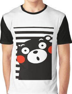 Japan Anime Kumamon Bear Animal Graphic T-Shirt