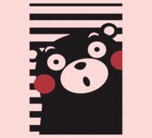 Japan Anime Kumamon Bear Animal One Piece - Short Sleeve