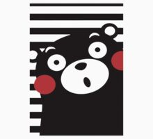 Japan Anime Kumamon Bear Animal One Piece - Long Sleeve