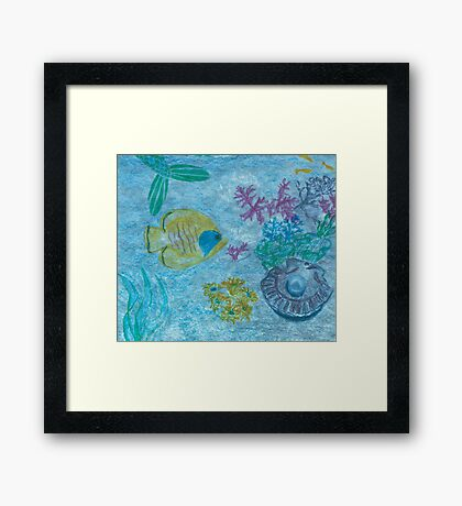 Tales and Scales Framed Print