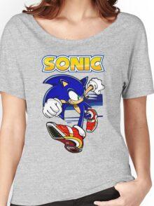 Run Sonic Run Women's Relaxed Fit T-Shirt
