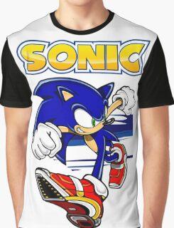 Run Sonic Run Graphic T-Shirt